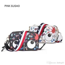 $enCountryForm.capitalKeyWord Australia - Pink Sugao Designer Women Shoulder Bag Luxury Cartoon Cute Messenger Bags Pop Fashion Big Eye Mini Crossbody Bag Top Quality 2 Color Bags