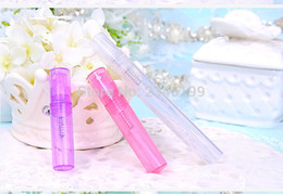 CosmetiC spray paCkaging online shopping - 2ml ml ml Colorful Plastic Perfume Pen Pencil Cosmetic Spray Bottle Liquid Atomizer Empty Cosmetic Packaging