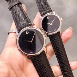 b7158206614c De lujo para hombre mujer amante relojes de pulsera estrella cielo  movimiento de cuarzo reloj de cuero de vaca real de alta calidad marca  pareja relojes ...
