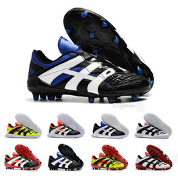 China Top Quality Mens Predator Football Boots Dream Back 98 Soccer Cleats Accelerator Champagne FG IC Soccer Shoes Designer Sneaker Trainer Shoes supplier soccer shoes top quality suppliers