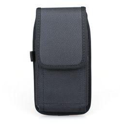 Vertical Phone Pouch Australia - Vertical Nylon Phone Holster Belt Case for iPhoneXR