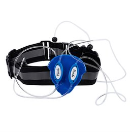 $enCountryForm.capitalKeyWord Australia - Blue Led Fiber Light Vest Jacket High Visibility Vests Night Sports Outdoor Running Cycling Camping Reflective Strap