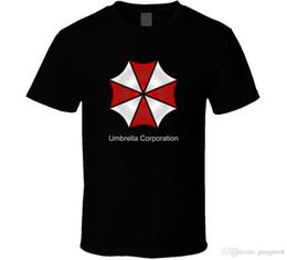 Umbrella men black online shopping - Umbrella Corporation Resident Evil Zombie Movie Parody Fan T Shirt