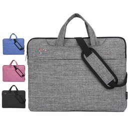 Discount hp inch tablet 13.3 14 15.6 inch Computer Laptop Bag Briefcase Handbag for Dell Asus Lenovo HP Acer Macbook Air Pro xiaomi Bag hot