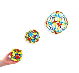 $enCountryForm.capitalKeyWord Australia - Creative Plastic Anti Stress Ball Hand Throw Size Change Ball Interactive Balls Toys For Children Educational Toys