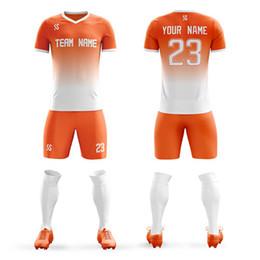 fdb25330d Cheap Soccer Uniform Australia - 2019 Cheap college soccer Jerseys Men Boys  breathable custom football Uniforms