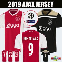 40214d62f Таиланд качество Ajax главная красный белый футбол трикотажные изделия 18 19  Ajax away футбол рубашка 2018 2019  10 TADIC  34 Нури  25 DOLBERG  футбольная ...