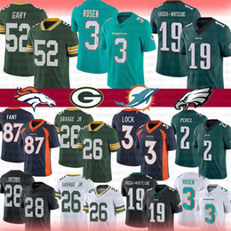 f30c176f8bf EaglEs jErsEys online shopping - Miami Josh Rosen Dolphins Jersey Packers  Rashan Gary Darnell Savage Jr