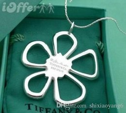 $enCountryForm.capitalKeyWord Australia - Hot 2019 Best selling popular 925 silver Beautiful flower pendant necklace for women and girl as gift and daily wearing with box