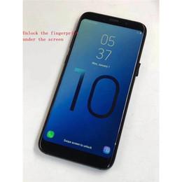 Vente en gros Goophone WCDMA 3G S10 6.3inch MTK6580 Téléphone mobile déverrouillé Quad Core Android 7.0 1G Ram 8G Rom téléphone intelligent