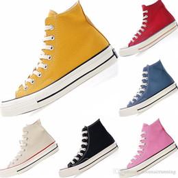 $enCountryForm.capitalKeyWord Australia - 2019 Classic 1970s KIds High Top Canvas Training Sneakers Originals Classic 1970s PU Cushioning Casual Skateboard Shoes