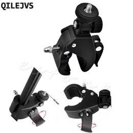 $enCountryForm.capitalKeyWord Australia - QILEJVS NEW 1Pc Bicycle Bike Handlebar Mount 1 4 Screw Clamp Bracket Tripod For Camera DV #662656