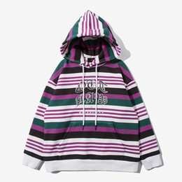 $enCountryForm.capitalKeyWord Australia - Boys Hooded Sweater Pullover Winter Plus Velvet Padded Striped Printed Hoodie Suitable For Height 110 cm To 160 cm