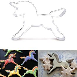 $enCountryForm.capitalKeyWord Australia - Unicorn Horse Cookies Cutter Cake Chocolate Fondant Soap Bread Mould Dessert Molds Cake Decorating Biscuit Pastry Baking Mould