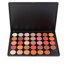 $enCountryForm.capitalKeyWord Australia - High Pigment Eyeshadow Palette 35 Colors High Pigmented makeup eyeshadow waterproof Warm Natural Bronze Cosmetic Eye shadow