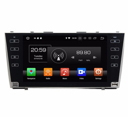 "toyota touch screen car 2020 - Android 8.0 Octa Core 9"" Car DVD GPS for Toyota Camry 2007 2008 2009 2010 2011 With Radio 4GB RAM Bluetooth WIFI US"