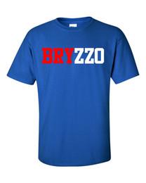 Shirts For Geeks NZ - Kris Bryant Anthony Rizzo Support Dropship Bryzzo T Shirt Tee Brand New T Shirt For Men Geek Custom Short Sleeve XXXL Family