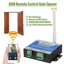 $enCountryForm.capitalKeyWord Australia - GSM Gate Opener Relay Switch Wireless Door Opener Remote Control Door Access Kit RTU5024