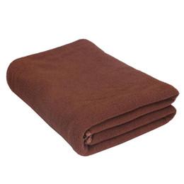 Discount superfine fiber - Large Superfine fiber Towel Sports Bath GYM Quick Dry Travel Swimming Camping Beach Brown