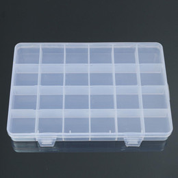 bead organizer container Australia - 24 Compartments Plastic Box Case Jewelry Bead Storage Container Craft