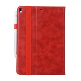 Waterproof Tablet China UK - Half Genuine Leather Tablet Cases For iPad PRO 10.5 ipad AIR Cover Case Shockproof Stand Dormancy PU Leather Case