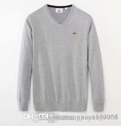 $enCountryForm.capitalKeyWord Australia - Men's round neck pullover cotton sweater sweater casual long sleeve sweater undershirt