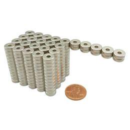 "$enCountryForm.capitalKeyWord Australia - 50pcs Ndfeb Magnet Ring Diameter 9.53x3.18x3.18 Mm 3 8""*1 8''*1 8"" Tube Diametrically Magnetized Neodymium Permanent Magnets"