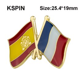 Australia Ireland Friendship Flag Label Pin Metal Badge Badges Icon Bag Decoration Buttons Brooch For Clothes 1pc Home & Garden Badges