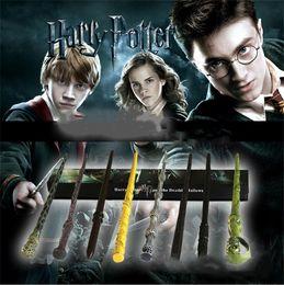$enCountryForm.capitalKeyWord Australia - 41 Styles Harry Potter Wand Magic Props Hermione Dumbledore Harry Potter Series Magic Wand Magical Wand With retail Box 5070