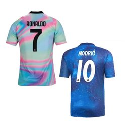 S-XL Pogba James Isco Modric Juventus Real madrid EA sports blue Soccer  Jersey Romas Dybala para hombre de calidad tailandesa CAMISETA DE FÚTBOL  2018 ebabff47ba4c0