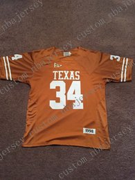 Cheap custom 1998 Ricky Williams Texas Longhorns NCAA Football Jersey  Stitch customize any number name MEN WOMEN YOUTH XS-5XL 7c4287ca5