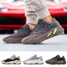 With Box Top Quality Yeezys Yezzy Yezzys Yeezy 700 Wave Runner Mauve EE9614  wsqsb Kanye West Designer Men Seankers New Top 700 V2 Static Sports Running  ... 59d032740