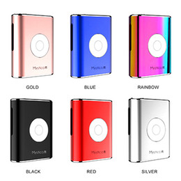 Wholesale e r online – design Authentic Airis Mystica R Box Mod E Cigarette VV Battery mAh Voltage Adjustable Vape Mods Diameter for Cartridges Colors