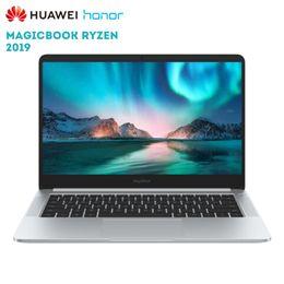 $enCountryForm.capitalKeyWord NZ - Original Huawei Honor MagicBook 2019 14 inch Laptop Windows 10 AMD Ryzen 5 3500U 8GB 256GB PCIe NVMe SSD Radeon Vega 8 PC