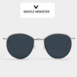082043ff1422 (hot) GENTLE MONSTER neutral for men and women stainless steel fashion  frameless sunglasses sunglasses