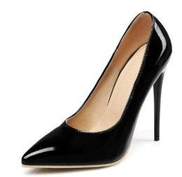 Ingrosso Scarpe da donna Sandali con cinturino con fibbia estiva Scarpe col tacco alto Scarpe a punta Scarpe con tacco alto moda H 40