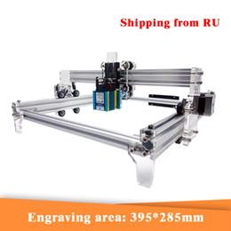Großhandel CNC-Laser Graviermaschine 500mW 2500mW 3500mW 5500mw 15000mw Laser-Modul 30 * 40cm CNC-Laser-Cutter Holz Router für das Schneiden