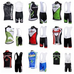 merida cycling jersey sets Canada - MERIDA Cycling Sleeveless jersey Vest bib shorts sets Wear resistant Quick drying free delivery Outdoor Sports Clothing 60350
