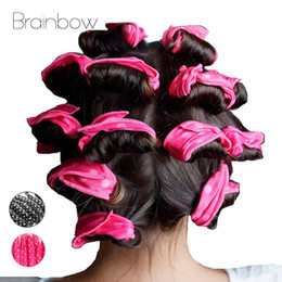 magic sponge hair curlers Australia - Brainbow 10PC Magic Sponge Pillow Soft Hair Roller Flexible Foam&Sponge Hair Curlers Rollers DIY Salon Hair Care Styling Tools Toptrimmer