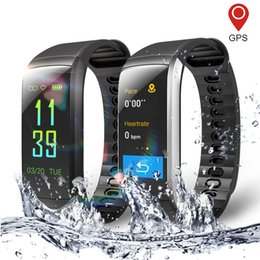 Smart Watch Iphone Android Australia - Fitness Smart Watch for Men and Women Heart Rate Monitor Waterproof Pedometer GPS Men's Sports Smartwatch For Android iPhone