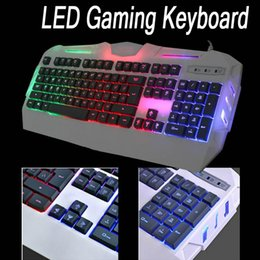2017 keyboard Glare X-S550 104 keys Wired LED Backlit Mechanical Handfeel Gaming Keyboard 19 Keys NO Rollover