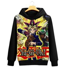 Hoodies & Sweatshirts Buy Cheap Yu-gi-oh Hoodie Sweatshirts Yugi Muto Aibo Atem 3d Hoodies Coat Pullovers Men Women Outerwear Jacket Hoodie
