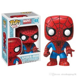 $enCountryForm.capitalKeyWord Australia - T13 Funko POP Marvel Spider-Man Homecoming Spider-Man Homemade Suit The Joker Action figures Toy Captain america Ironman Black Widow X-Man H