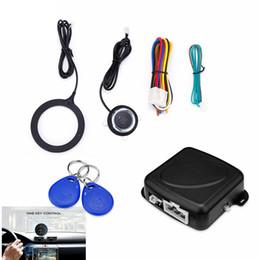 $enCountryForm.capitalKeyWord Australia - GY902C Car Anti-theft System Engine Push Start Button Stop RFID Lock Ignition Switch Keyless Entry Immobilizer XL-147