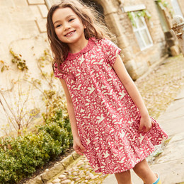 ca9bd4691db2 Pattern knee dresses casual online shopping - Baby Clothes for Girls  Princess Dress with Designer Patterns