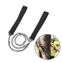 $enCountryForm.capitalKeyWord Australia - Folding Emergency Survival Chain Wire Saw 11 teeth Pocket Hand Chainsaw Camping Hiking Hunting Gardening Outdoor Tool + Bag