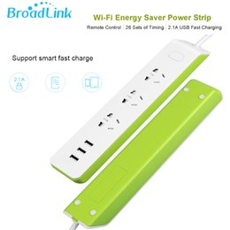 Power outlet remote control online shopping - Broadlink Original MP2 WiFi Switch G G Plug USB Power Strip Outlet AU UK US EU Socket Adapter for Android Remote Control