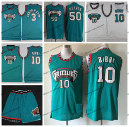 3fa03f6a5 Vintage Mens Vancouver Mike Bibby Bryant Reeves Grizzlies Basketball Jersey  #10 Cheap Mike Bibby Shareef Abdur Rahim 3 Stitched Shirts S-XXL