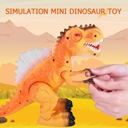 Chinese  Simulation Mini Dinosaur Toy Electric Plastic Animal Sound Light Model Toys manufacturers