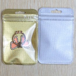 $enCountryForm.capitalKeyWord Australia - gold silver Zipper Lock Bag Retail Plastic Package Bag Poly OPP Pack Small accessories Packing Bag